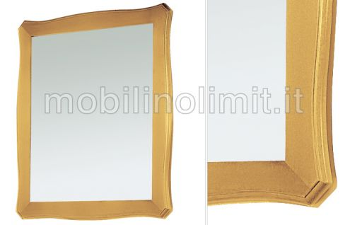 Specchiera foglia oro - Nuovo