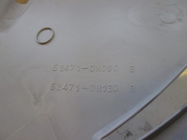 TOYOTA AYGO 1.0 BENZ 5P 5M 50KW (2011) RICAMBIO RIVESTIMENTO MONTANTE POSTE … - Foto 2