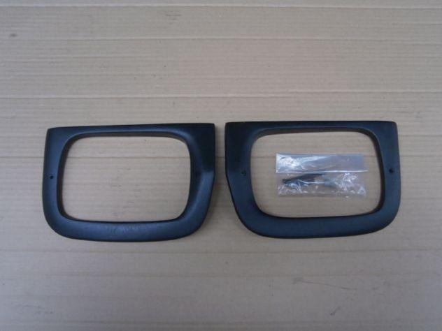 FIAT 850 124 coupe 1100R freccia plastica gemma fanalino bordo cromato NOS