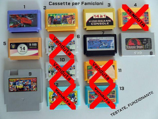 Cartucce Famiclone vintage, Multigioco Anni 90