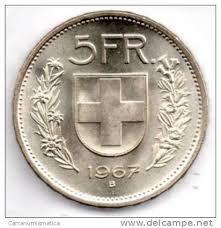 Franchi svizzeri monete
