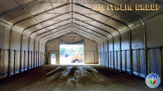 Tunnel Professionali  Hangar 10 x 20 x 5,50 mt. Prezzi eccezionali - Foto 10