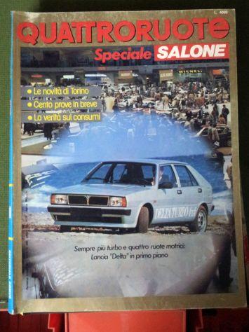 Riviste QuattroRuote 1980 - 81 - 82 - 83 - 84 - 86 - Foto 10