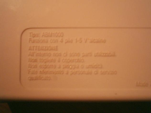 Monitor baby chicco ABM1000 usato prodotto per l'infanzia Fascia di età0-1 …