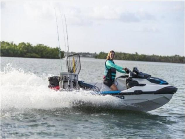 moto d'acquaSea Doo GTX FISH PRO 170 WHITE & - Foto 4