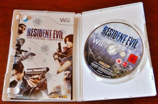 gioco Resident Evil Darkside Chronicles Wii ITALIANO Capcom Nintendo Ita wii u - Foto 2