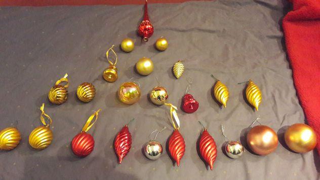 Set Decorazione albero di Natale