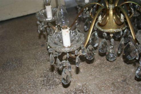 Lampadario di prestigio anni applique in cristallo annunci