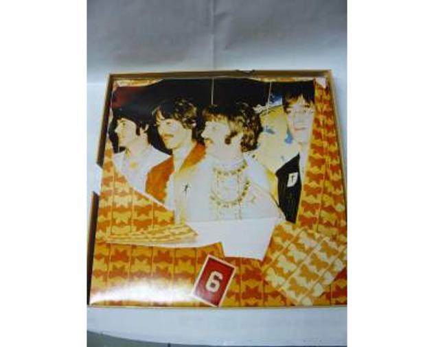 The Beatles 8 dischi in vinile da 33 giri (rarita')come da foto - Foto 4