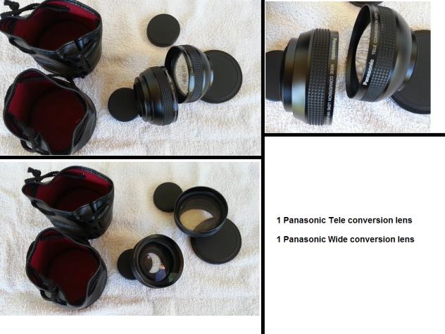 3 obbiettivi Yashica, 2 conversion lens Panasonic - Foto 2