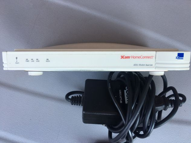 3com modem homeconnect adsl modem dual link