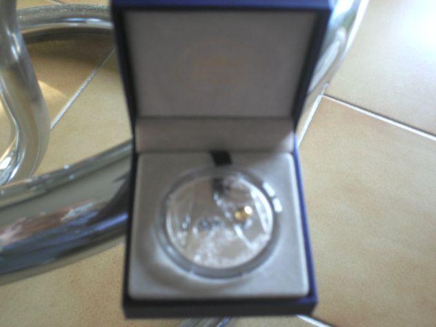 Medaglia argento Uefa 2016