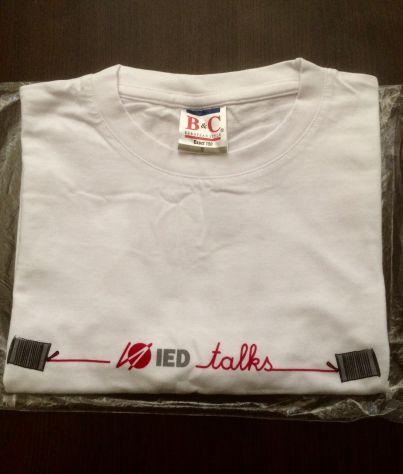 T-shirt IED talks