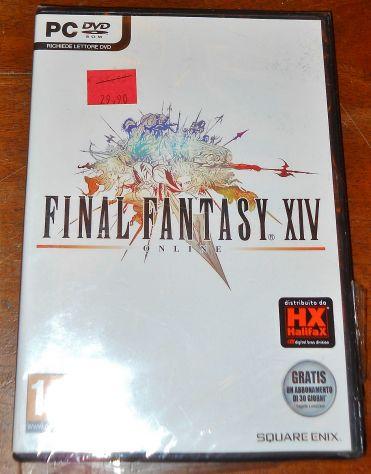 Gioco pc final fantasy XIV nuovo sigillato GDR RPG game videogioco