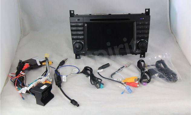 Autoradio 2DIN navigatore Mercedes W203 W209 W203 W407 W467 C200 C220 - Foto 2