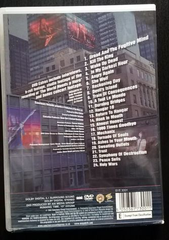 Megadeth rude awakening live DVD musica VIDEO - Foto 2