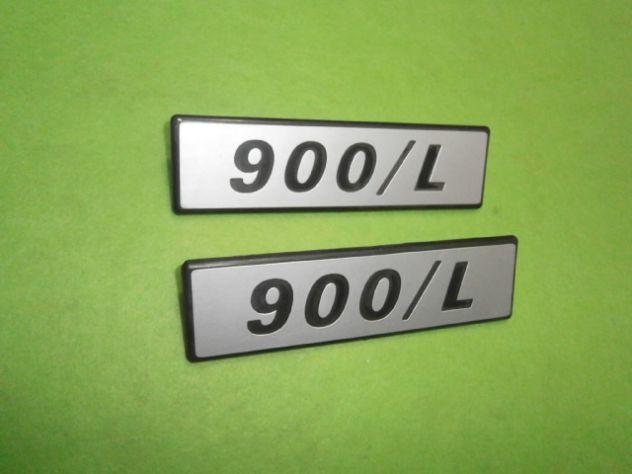 Scritte laterali Fiat 127 900L loghi targhette NUOVE - Foto 3