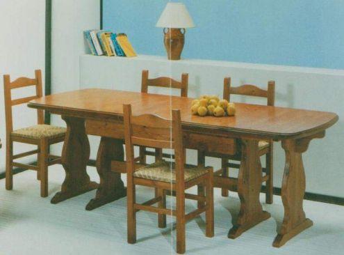 Arred rustici:Tavoli Allungabili 3 sedie Prezzo fabbrica nuovo