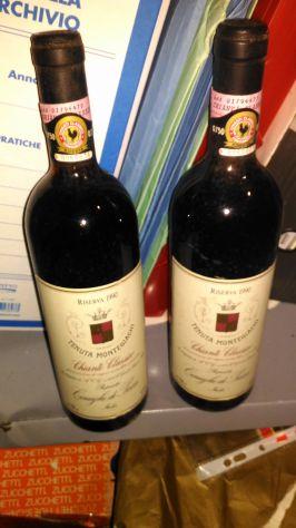 Vecchie bottiglie di vino