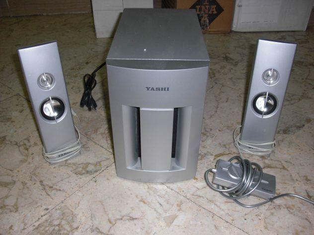 Sistema audio YASHI