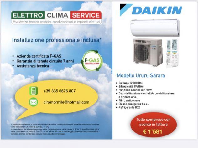 Offerta Installazione condizionatore Daikin con SCONTO IN FATTURA