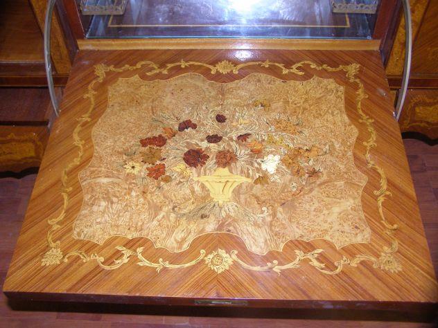 Credenza servante buffet antiquariato intarsio - Foto 4