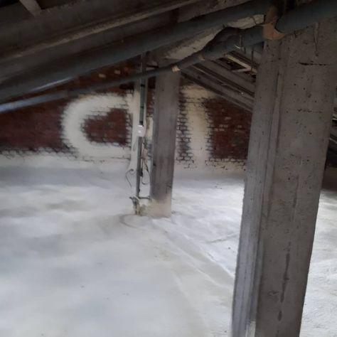 Insufflaggio,spruzzo e colata isolamento termico solaio condominio - Foto 3