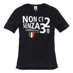 T-SHIRT JUVENTUS CELEBRATIVA CAMPIONI D 'ITALIA 2013-14 JUVE DEI RECORD