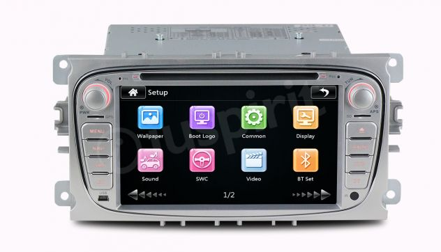GPS DVD BT autoradio 2 DIN navigatore Ford Focus Mondeo C-Max Galaxy - Foto 4