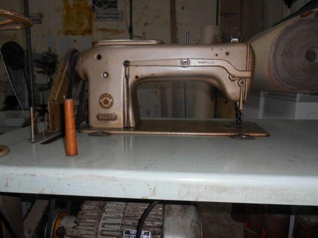 Vendo macchina da cucire per pelletteria