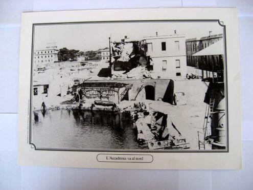 Riproduzione foto a Livorno titolo-L 'ACCADEMIA VA AL NORD- serie - ANNI DI …