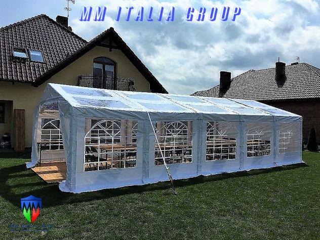 tendoni 6 x 12  tetto  e pareti trasparenti  pvc cristal , con velcro, modulari - Foto 8