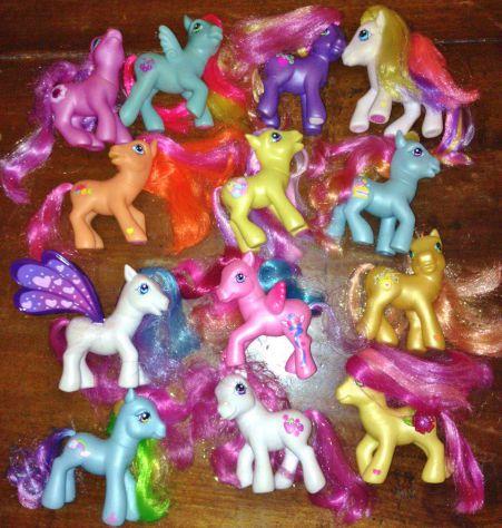 Mega lotto 13 my little pony hasbro G3 collezione come nuovi vola mio mini pony