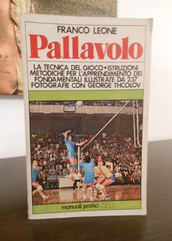 Pallavolo, FRANCO LEONE, MANUALI PRATICI MEB 1978. - Foto 5