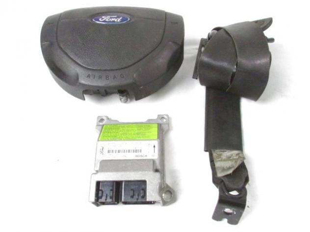 2T1T-14B321-AC KIT AIRBAG FORD TRANSIT CONNECT 1.8 81KW D 5M (2008) RICAMBI …