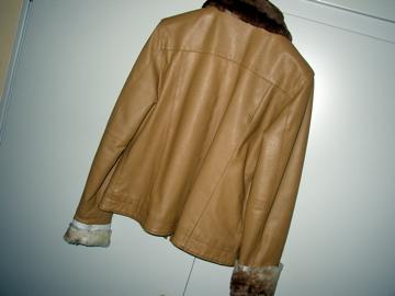 Paul Wite real leather - giubbino pelle e cavallino - made in italy - artig …