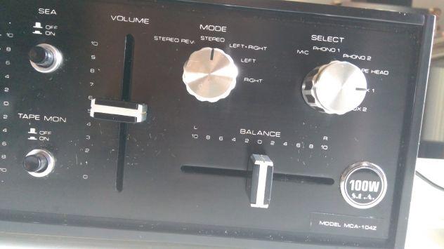 amplificatore jvc mca 104 z - Foto 2