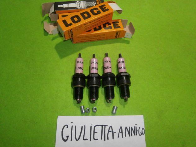Candele Alfa Giulietta ti e giulia 1a serie Lodge 2hlny NUOVE Spark Plug Alfa