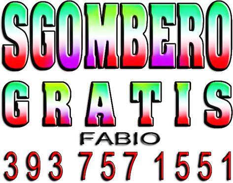 PADOVA SGOMBERO GRATIS CANTINE GARAGE SOFFITTE FABIO: 393 7571551