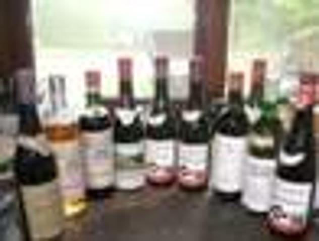 Bottiglie vino da collezione