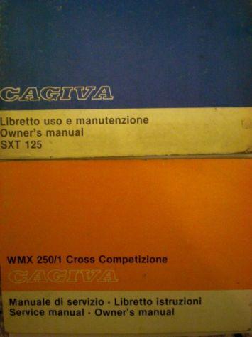 Cagiva manuali uso e manutenzione - Foto 2