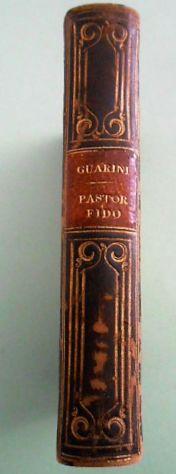 G.B.GUARINI Il PASTOR FIDO Firenze Borghi e C. 1826.Mini libro