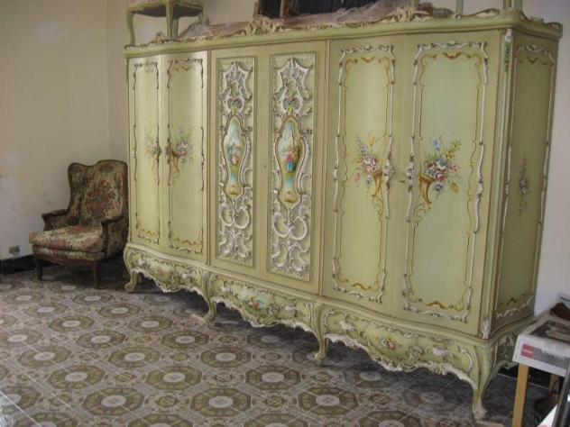 Camera da letto stile veneziano annunci genova for Ebay arredamento antiquariato