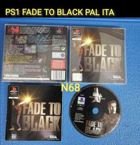 PS1 FADE TO BLACK PAL ITA