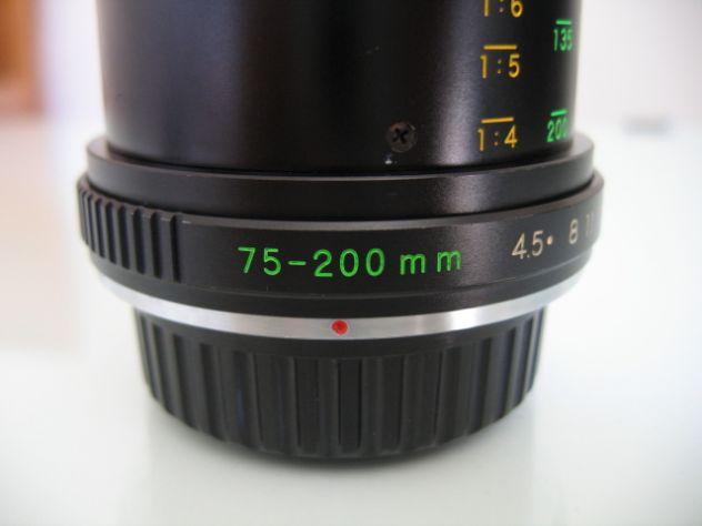 YASHICA MC ZOOM MACRO 75-200 mm. f/4.5 - Y/C - Foto 8
