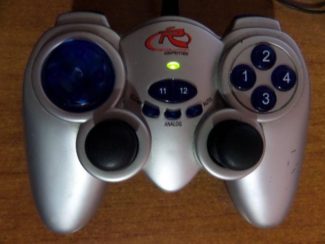 Joypad per PC (stile playstation) con levette + vibrazione, spin. USB - Foto 5