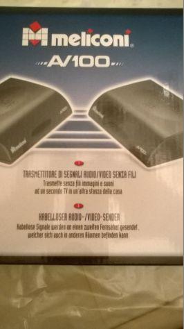 Trasmettitore di segnali Audio/Video senza fili MELICONI AV100 - Foto 6