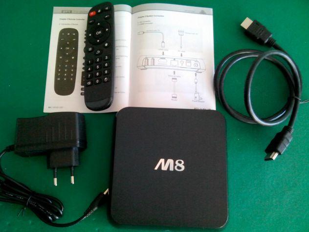 TV BOX ANDROID SMART TV M8 QUAD CORE 2 GIGA FULL HD 1080P - Foto 6