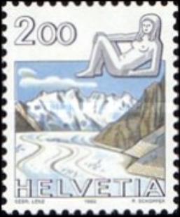"""Francobolli nuovi da collezione serie """"Zodiac"""" Svizzera - Foto 4"""
