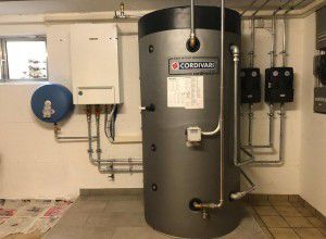 Offerta per Acqua calda sanitaria a Pompa di calore
